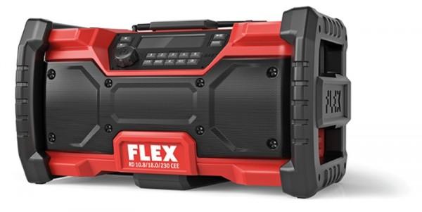 Flex Digitales Akku-Baustellenradio 10,8 /18,0 V