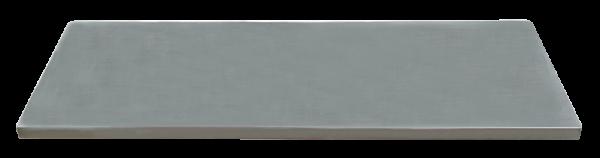 MSS Edelstahl-Arbeitsplatte 1348x500x38mm