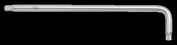 Winkel-TX-Schlüssel extra lang mit Kugel T40