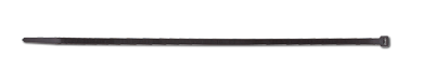 Kabelbinder, 4,8x280mm, 100 Stück Packung (schwarz)