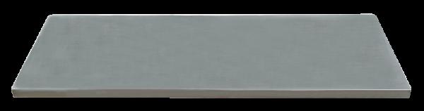 MSS Edelstahl-Arbeitsplatte 1690x500x38mm