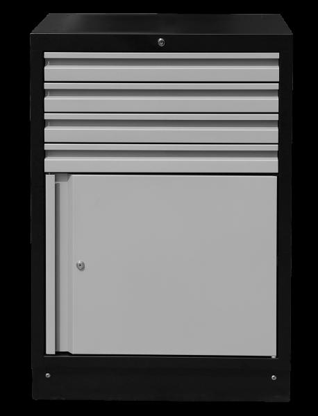 MSS 674mm Schrank mit Türe ohne Arbeitsplatte