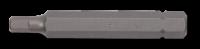10mm Innensechskant Biteinsatz, 75mm, 4mm