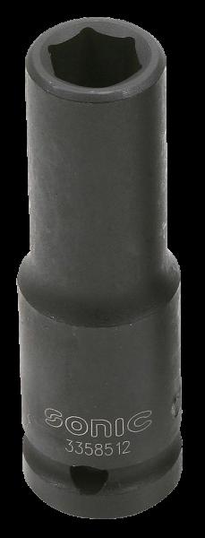 1/2'' Schlagschraub-Nuss, 6-kant, lang, 12mm
