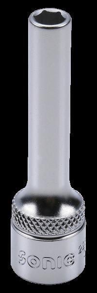 3/8'' Nuss, 6-kant, lang, 6mm