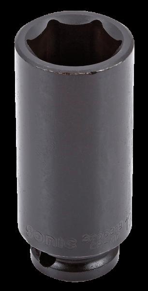 3/8'' Schlagschraub-Nuss, 6-kant, lang, 19mm