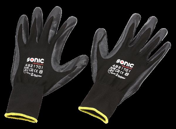 Sonic Equipment Nitrilhandschuhe Größe 8 Medium