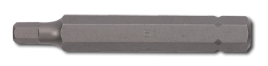 10mm Innensechskant Biteinsatz, 75mm, 10mm