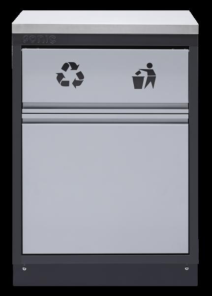 MSS 674mm Abfallbehälter ohne Arbeitsplatte