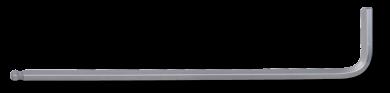 Kugel-Innensechskantschlüssel extra lang 1/4'' SAE