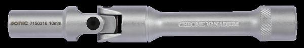 3/8'' Gelenknuss, 6-kant, 140mm, 10mm