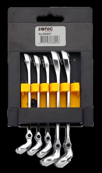 Bewegliche Hydraulikschlüssel-Set, 5-tlg.