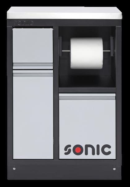 MSS 674mm Abfall Schrank und integrierter Papierrollenhalter