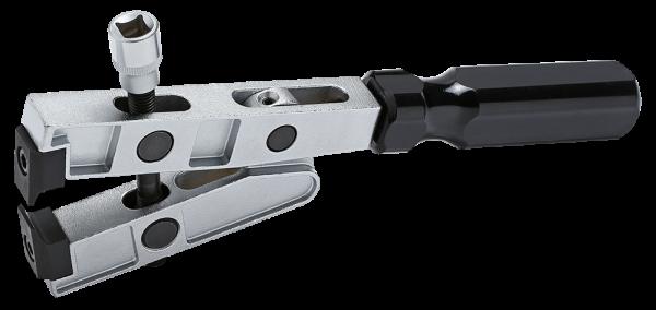 Schlauchbandzange mit Schneider, 260mm