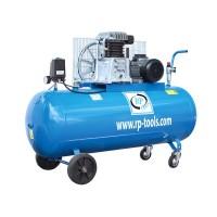 RP-Tools Kompressor 200 l 2 Zyl. 4,0 PS 400 V - AN 514L AB 411L - Betriebsdruck 8 Bar (max. 10 Bar)