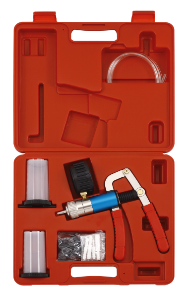 Vakuumpumpe inklusive Schlauch und Anschlüsse