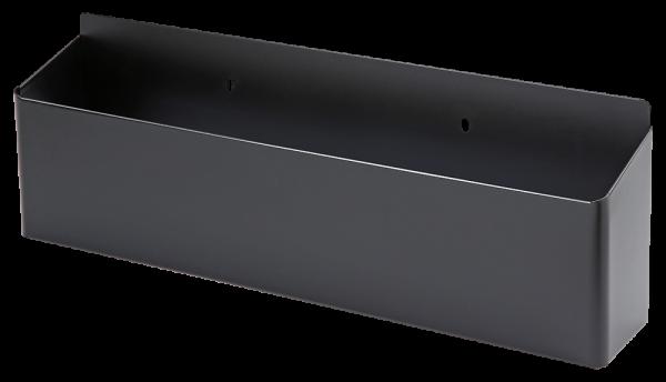 Leere Schale seitlich, schwarz (S15)