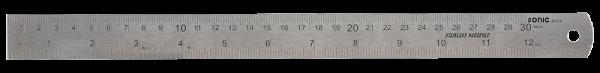 Edelstahllineal, 30cm
