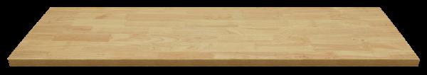 MSS Holz-Arbeitsplatte 1348x500x40mm