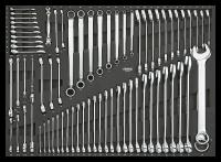 SFS, Schraubenschlüsselset, 72-tlg.