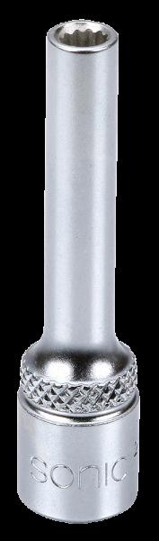 1/4'' Nuss, 12-kant, lang, 4mm