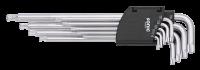 Winkel-TX-Set mit Kugel, 9-tlg.