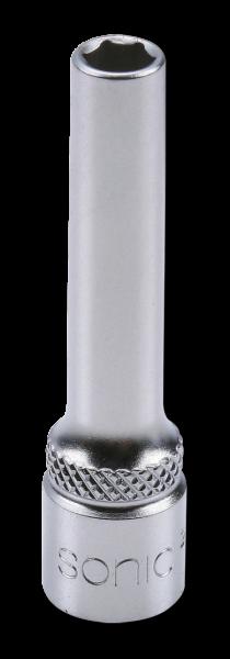 1/4'' Nuss, 6-kant lang, 9mm