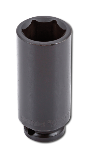 3/8'' Schlagschraub-Nuss, 6-kant, lang, 16mm