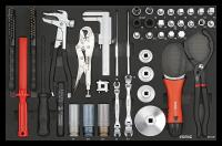 SFS Werkzeugset, 43-tlg.