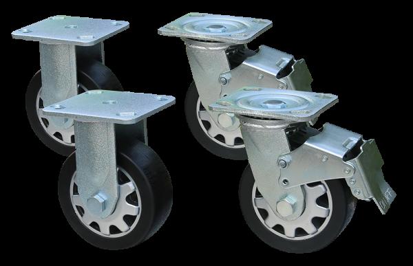 Rollensatz für Werkzeugwagen, 4-teilig S10 4733115