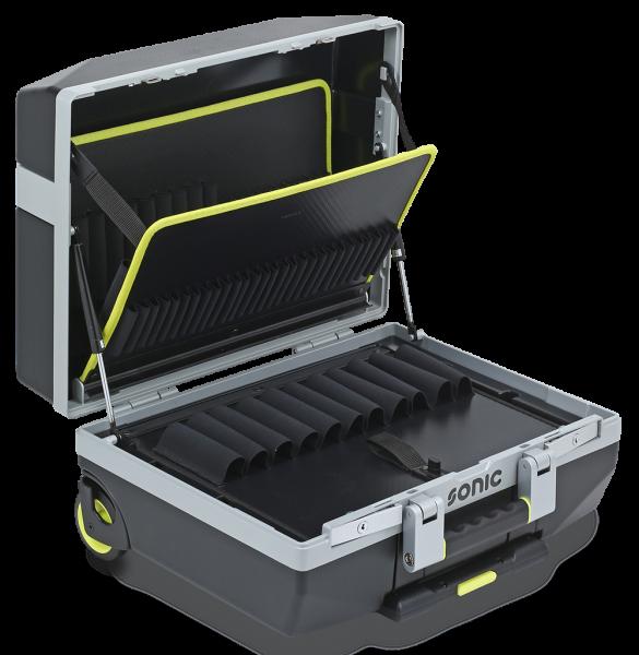 Werkzeugkoffer leer XL mit Rädern, L485 x B410 x H215mm