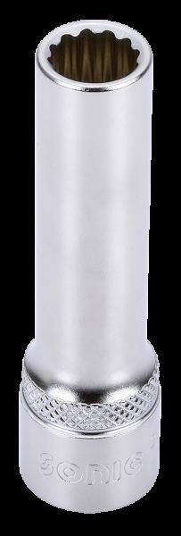 3/8'' Nuss, 12-kant, lang, 9mm