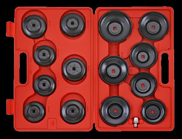 Ölfilterschlüssel-Set, 15-tlg.
