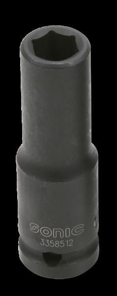 1/2'' Schlagschraub-Nuss, 6-kant, lang, 16mm