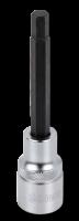 1/2'' Innensechskant Biteinsatz, 100mm, 17mm