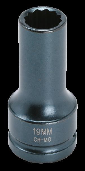 3/4'' Schlagschraub-Nuss, 12-kant, 19mm