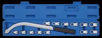 Keilriemen Schlüssel Gegenhalter TX und 12-kant, 15-tlg.