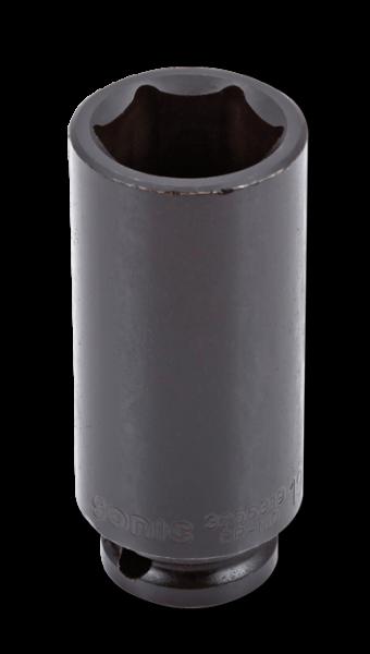 3/8'' Schlagschraub-Nuss, 6-kant, lang, 21mm