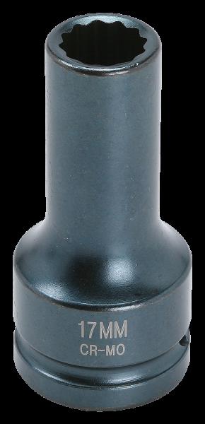3/4'' Schlagschraub-Nuss, 12-kant, 17mm