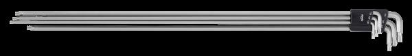 Winkelstiftschlüssel-Satz, TX, 600mm, 6-tlg.