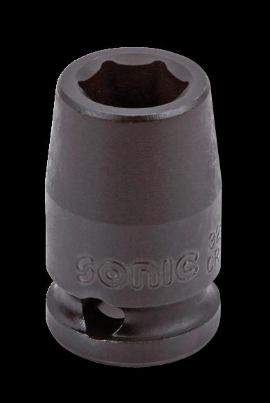 3/8'' Schlagschraub-Nuss, 6-kant, 9mm