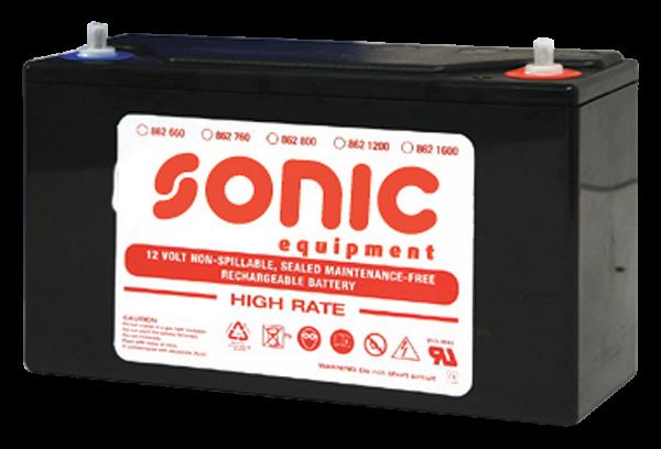 Batterie 12V ? 1200A (250x95x158mm) für 12V/1200CA, 12/24 ?2