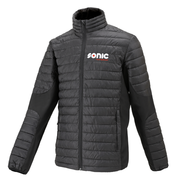 Cross over jacket, black/black XL