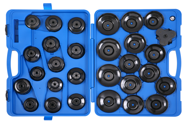 Ölfilterschlüssel-Set im Koffer, 30-tlg.