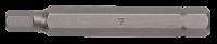 10mm Innensechskant Biteinsatz, 75mm, 7mm