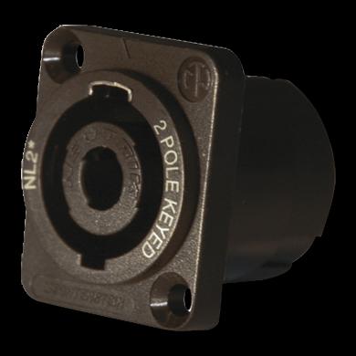 Ladebuchse (2 Pole) für alle Starthilfegeräte 24V (MALE)