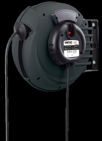 Sonic Equipment Kabletrommel mit Strom 18m
