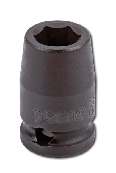 3/8'' Schlagschraub-Nuss, 6-kant, 8mm