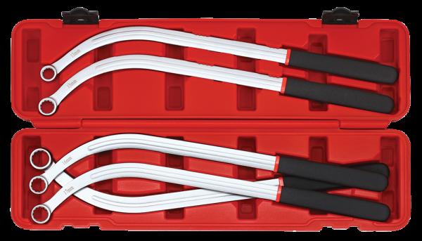 Keil- und Zahnriemen-Schlüssel-Set, 13-19mm, 5-tlg.
