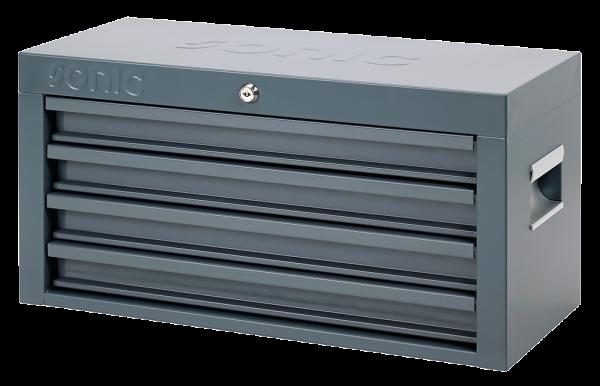 Topbox leer, RAL7011, L535 x B241 x H285mm